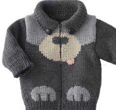 Jungen Pullover Modelle - Knitting For Kids Baby Knitting Patterns, Baby Boy Knitting, Knitting For Kids, Crochet For Kids, Baby Patterns, Crochet Baby, Baby Sweater Patterns, Baby Knits, Knit Baby Sweaters
