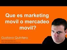 Que es marketing movil o mercadeo movil - YouTube