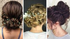 Top 20 Messy and Stylish Updos for Long Hair - Wittyduck Loose Chignon, Messy Chignon, Chignon Hair, Messy Braids, Ponytail Haircut, Hairstyle Look, Fancy Hairstyles, Twist Hairstyles