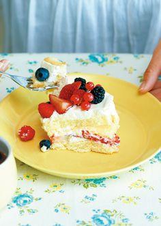 ベリーベリーベリーショートケーキ のレシピ・作り方 │ABCクッキングスタジオのレシピ | 料理教室・スクールならABCクッキングスタジオ
