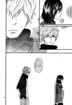 Ookami Shoujo To Kuro Ouji 31 Page 43....IS THE SKY FALLING???HE APOLOGIZED....CHARACTER DEV. RIGHT THERE