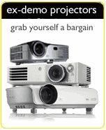 Projectors increasingly popular for in-home sports simulators