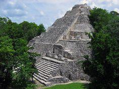 Coba Mayan Ruins - tallest pyramids in the Yucatan