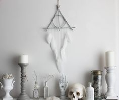 Potter pagan witchcraft wall-hanging. Deathly Hallows by BoudoirDuChaman
