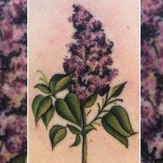 My lilac tattoo