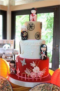 Kimmi Dolls Birthday Cake