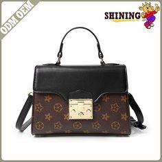 New Fashion PU Leather Women s Handbags With Purse Famous AOYE Ladies  Shoulder Bags High Quality Print Flowers 2017 Summer Bag 5e5fd681f7e7b