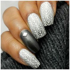 7 Sweater Nail Art Designs You'll Obsess Over