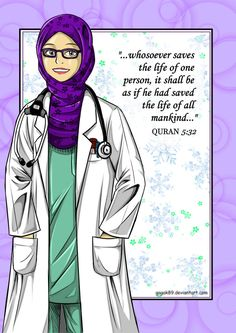 Dr Muslimah by GaGaK89 on DeviantArt