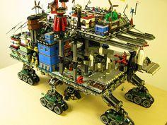 Lego MOC Crawler Town by DeGobbi