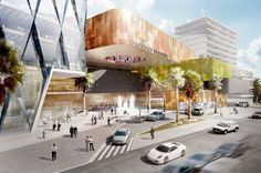 Gallery - United Bank of Addis Ababa Proposal / Söhne & Partner Architects + BET Architects - 1