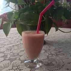 Simple Breakfast Smoothie Recipe - Allrecipes.com #AllrecipesAllstar  #MyAllrecipes