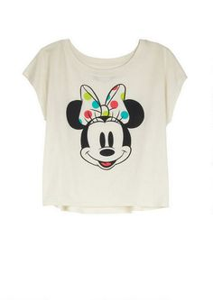 Minnie Polka Dot Bow Tee - View All Graphic Tees - Graphic Tees - Clothing - dELiA*s