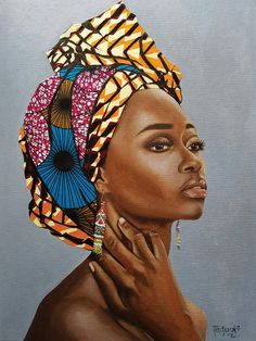 African Wall Art - Cheap Canvas Art - Oil Paintings for Sale African Wall Art, African American Artwork, Black Girl Art, Black Women Art, Art Women, Cheap Canvas Art, Art Paintings For Sale, African Artists, Black Artwork