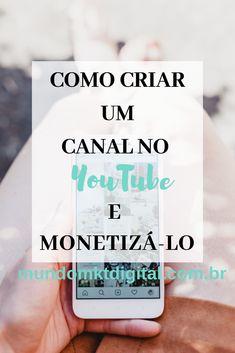 Marketing Online, Digital Marketing, Canal E, Youtubers, Coaching, How To Make Money, Videos, Social Media, Education