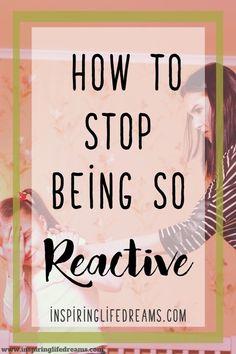 Proactive Parenting - 20 Ways To Stop Being Reactive And Ove.-Proactive Parenting – 20 Ways To Stop Being Reactive And Overreacting Parents overreact to everything Gentle Parenting, Parenting Humor, Kids And Parenting, Parenting Hacks, Parenting Classes, Mindful Parenting, Parenting Plan, Peaceful Parenting, Parenting Styles