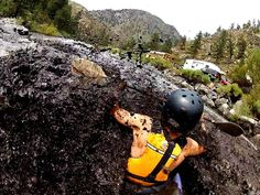 Kayaking the black water of the Poudre River in Colorado after a big forest fire and a flash flood. Photo by Ian Madsen.#GoPro