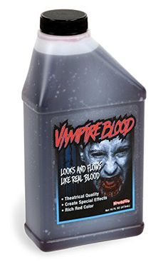 Dress-Up Toy Makeup - Pint of Blood Halloween Vampire Blood 16 Oz * For more information, visit image link.