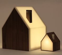 Cool idea - the little houses light up with the big lamp is turned on. But trying to raise half a million for a lamp via kickstarter is crazy. Good Night Lamp by The Good Night Lamp team, via Kickstarter.