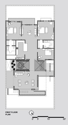 America's Best House Plans is offering some of the best modern home design and modern floor plans in the nation.Design your own kitchen floor plans and la Modern Floor Plans, Contemporary House Plans, Modern House Plans, Best House Plans, House Floor Plans, Circle House, Architectural Floor Plans, Courtyard House Plans, Monster House Plans