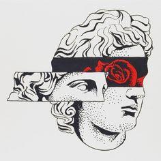 "8,880 отметок «Нравится», 52 комментариев — Bryce ""The Sandman"" Wong (@bbbrycewong) в Instagram: «Blindfold #draweveryday #dailydrawing #instaart #instaartist #ink #micron #blackink #prisma…»"