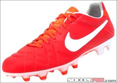 Nike Tiempo Legend IV FG Soccer Cleats - Sunburst with Total Crimson...$143.99 Soccer Gear, Soccer Boots, Football Gear, Soccer Equipment, Football Shoes, Adidas Soccer Shoes, Adidas Cleats, Nike Soccer, Soccer Cleats
