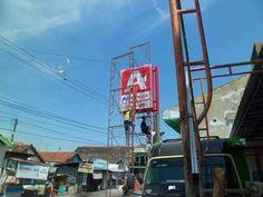 Neon Box Toko Supermarket di Makassar Sulawesi Selatan Neon Box, Makassar, Golden Gate Bridge, Fair Grounds, Interior, Fun, Travel, Viajes, Indoor