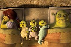 Shrek and the fam:) love them<3