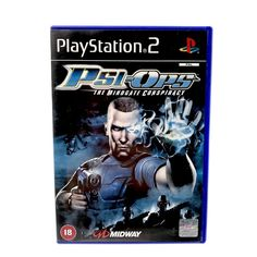 Sony PlayStation 2 Psi-Ops The Mindgate Conspiracy 2004 European Version Ps2 pal