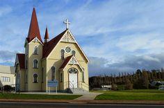 Uniting Church. Penguin, Tasmania, Australia.