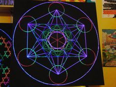 Stringart, how to make a Metatron's Cube