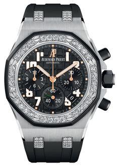 Часы Audemars Piguet Royal Oak Offshore Ladycat Chronograph – Эксклюзив для женщин | LuxuriousWatches.ru