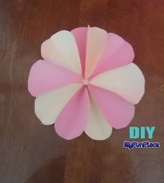 How To Make A Paper Flower - DIY - Paper Craft