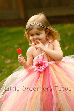Birthday Wishes Tutu Dress  24m thru 4T by littledreamersinc, $70.00