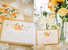 ...every single detail from this baby shower. Seriously. || A little peach baby shower | Grey Likes Baby