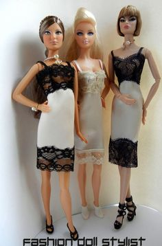 Tutoriales -Fashion Doll Stylist: Giving Her the Slip