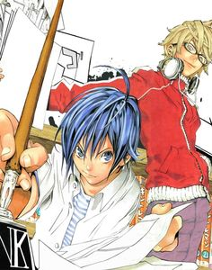 Bakuman. May not look like it but it has the cutest love story of all time.