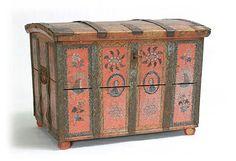 Morsiusarkku. Handicraft, Finland, Countries, Folk Art, Decorative Boxes, Traditional, Decoration, Crafts, Painting