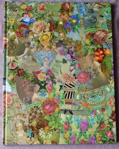 michal negrin | Michal Negrin Vintage Hard Cover Lined Book - World Gifts Store