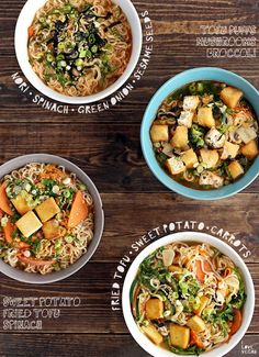 How to Make (Vegan) Ramen Better - -You can find Ramen and more on our website.How to Make (Vegan) Ramen Better - - Asian Recipes, Soup Recipes, Whole Food Recipes, Vegetarian Recipes, Healthy Recipes, Healthy Ramen, Ethnic Recipes, Vegan Soups, Vegan Dishes