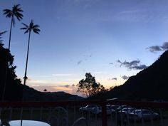 Atardeceres mágicos en el Valle del Cocora Celestial, Sunset, Outdoor, Outdoors, Sunsets, Outdoor Games, The Great Outdoors, The Sunset