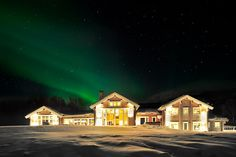 Aurora Borealis at Lyngen Lodge, Norway