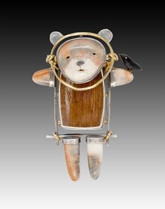 Bear Pin/Pendant by Carolyn Morris Bach