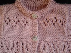 Knitting PATTERN Thistle and Clover Baby Set Instant by SewBizGirl