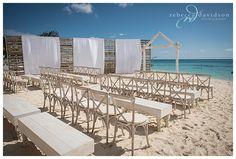 celebrations decor white wood wedding