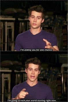 Ahhh Dylan O'Brien :) you already have, my good sir. *squeals*