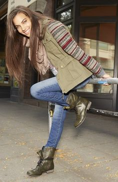 Jack Jacket, C+B Tee & Articles of Society Skinny Jeans   Nordstrom