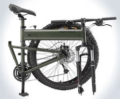 Paratrooper Tactical Mountain Bike. You have to watch the YouTube video of this thing in action.
