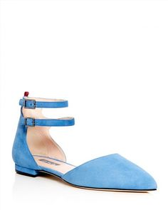 8e3d15f3616 SJP by Sarah Jessica Parker Consume d'Orsay Pointed Toe Flats - 100%  Exclusive