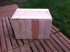 Pallet boxes for house  #Boxes, #Pallets